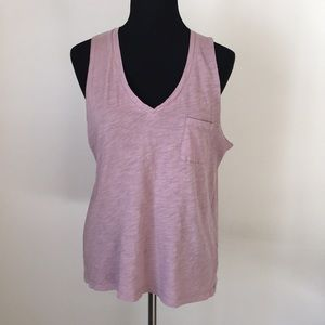 Madewell V-Neck Tank Top - Large